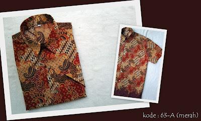 Baju Batik Pria 63A