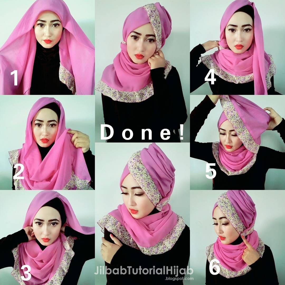 21 Tutorial Hijab Tomboy Tutorial Hijab Terbaru Tahun 2017