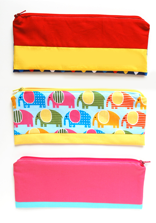 DIY Pencil Pouch - Are you searching for some DIY Pencil case tutorials for back to school season? This list is full of beautiful patchwork pouches, flat pencil cases, binder pencil cases & even a crochet pencil case! There are some great Pencil case projects in this post.