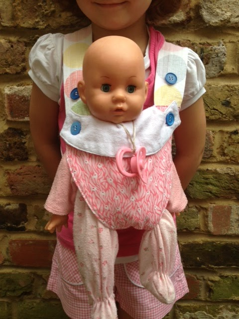 Random Crafting Adventures: Baby Doll Carrier