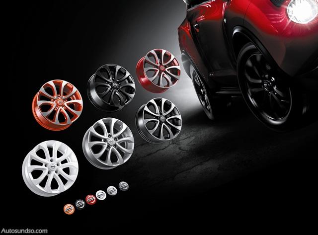 Neues Personalisierungsprogramm für Nissan Juke