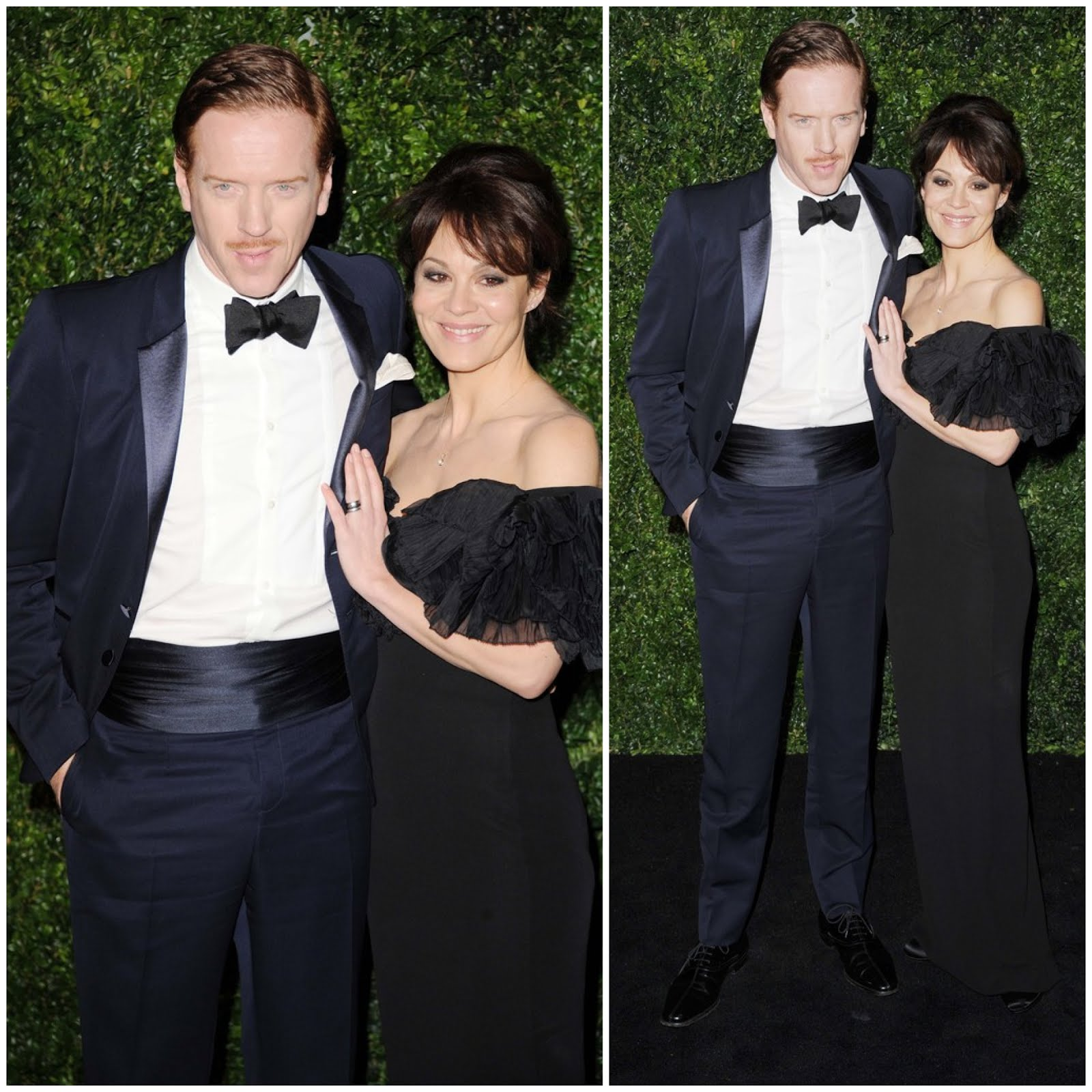 00O00 London Menswear Blog Celebrity Style Damien Lewis in Burberry - 2012 London Evening Standard Theatre Awards