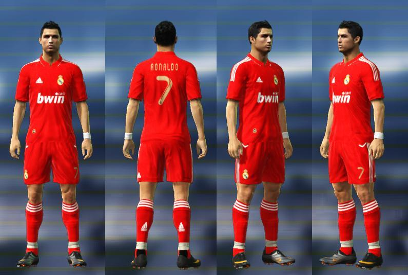Real Madrid 3rd Official 2011 2012 Kit  PES 2011  By OtShA 9