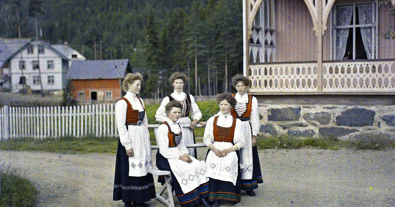 The First Color Photographs of Norway, 1910