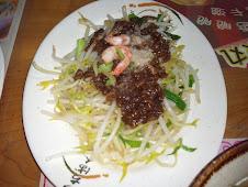 台南西門路二段273號度小月創始人洪芋頭豆芽菜