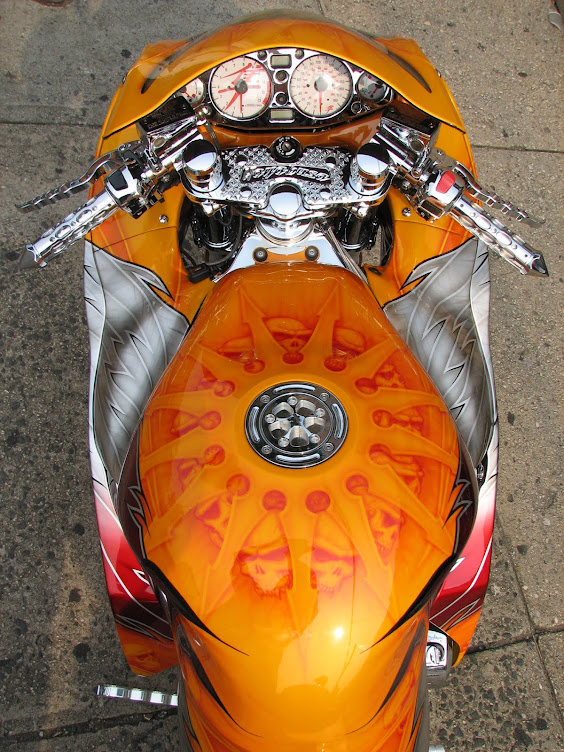 Indian Skull Hayabusa