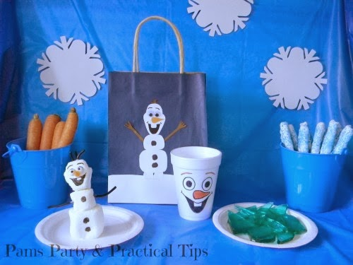 #Frozen Party Food, Games and Activities