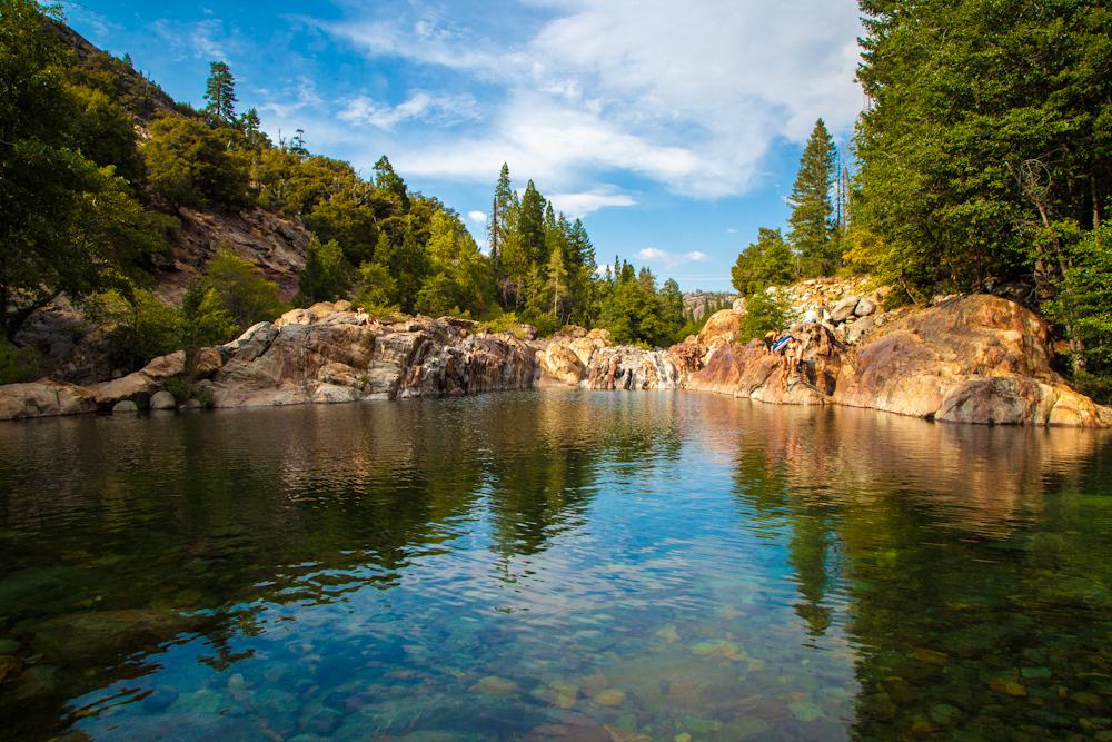 Swimming Holes Of California Emerald Pools Upper North