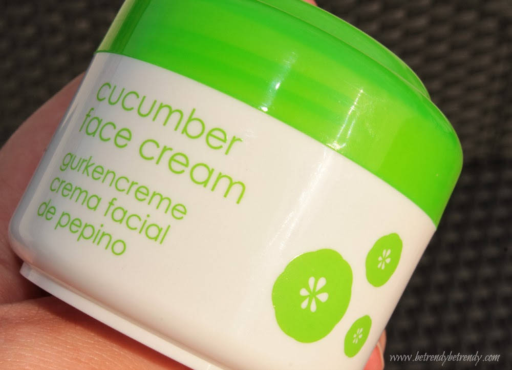 ziaja cucumber face cream review