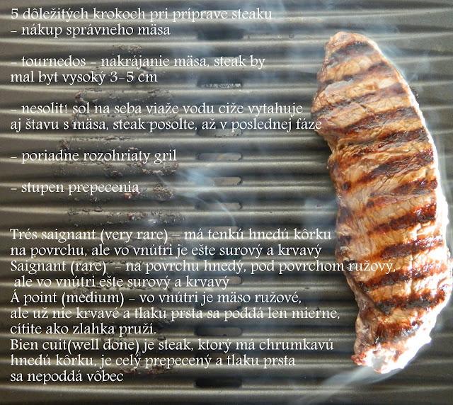 Argentínsky steak s bernskou omáčkou