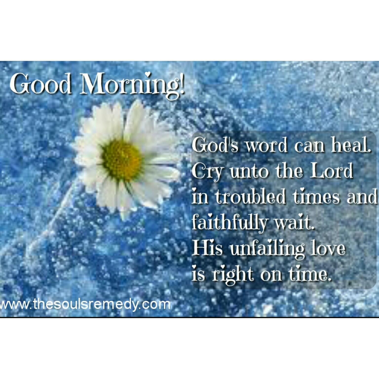 Good Morning S Healing Word
