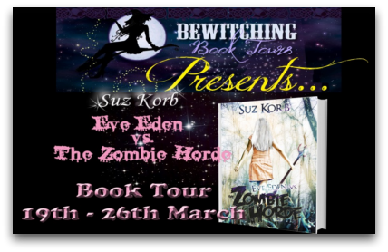 Eve Eden vs. the Zombie Horde Virtual Book Tour: Guest Post + Giveaway