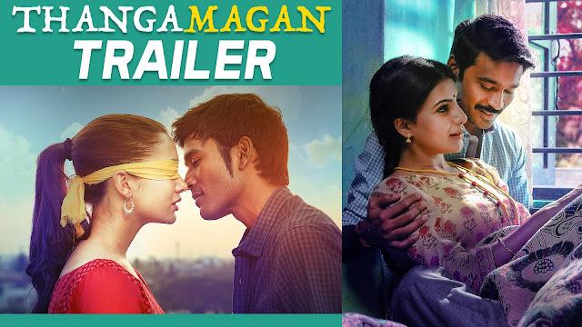 Thangamagan Tamil Movie Official Trailer | Dhanush, Amy Jackson, Samantha | Anirudh Ravichander