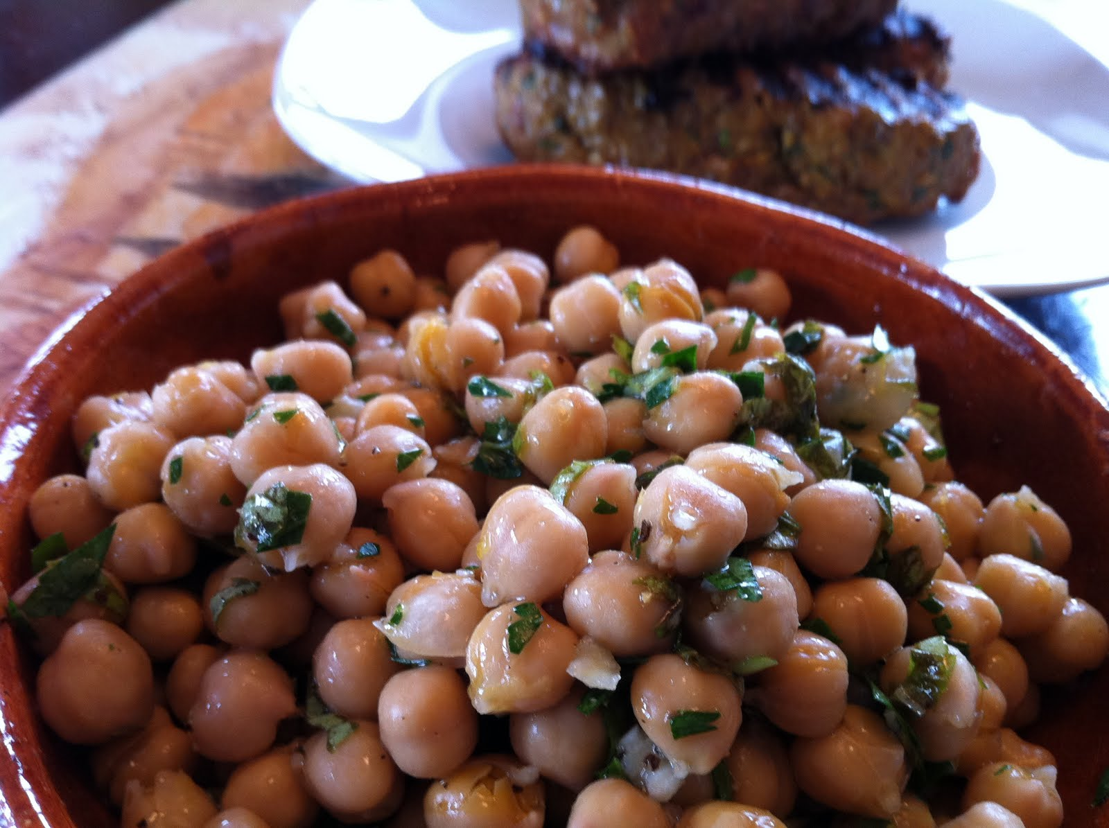 Chickpea Salad with Lemon, Parmesan & Fresh Herbs ...