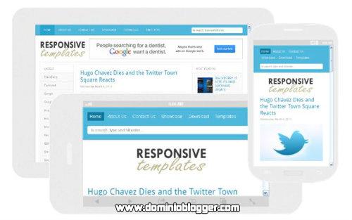 Responsive Templates para blogger