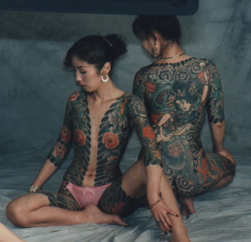 Tattoo Yakuza Girl