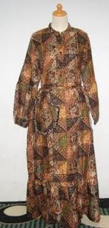 gamis batik fashion