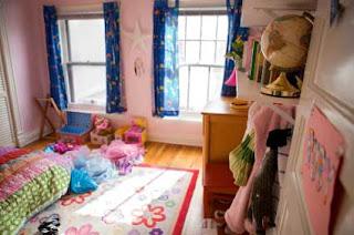 Cortinas para o quarto infantil