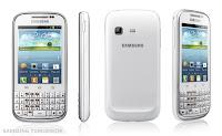 Samsung Galaxy Chat Tarik Penggemar BBM