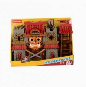 Snapdeal: Buy Fisher-Price Imaginext Samurai Castle at Rs.1230