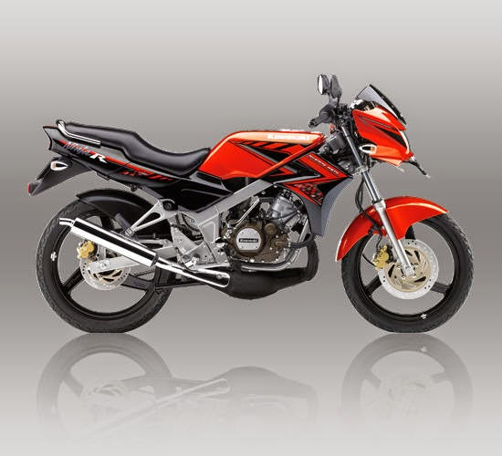 Kawasaki Ninja R Orange