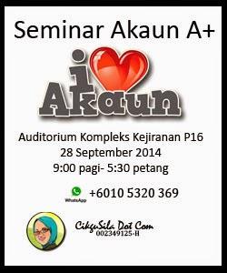 Seminar Akaun A+