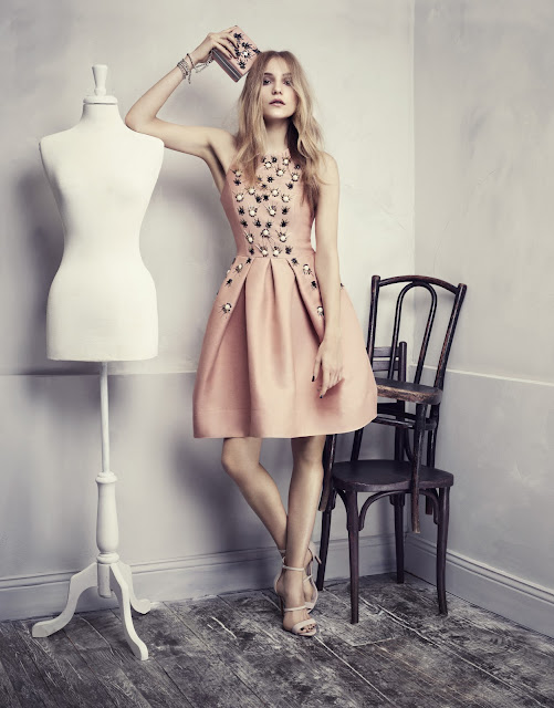 Fashion Junkies loves H&M Conscious Exclusive pink dress