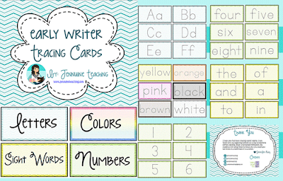 https://www.teacherspayteachers.com/Product/Early-Writer-Tracing-Cards-1907439