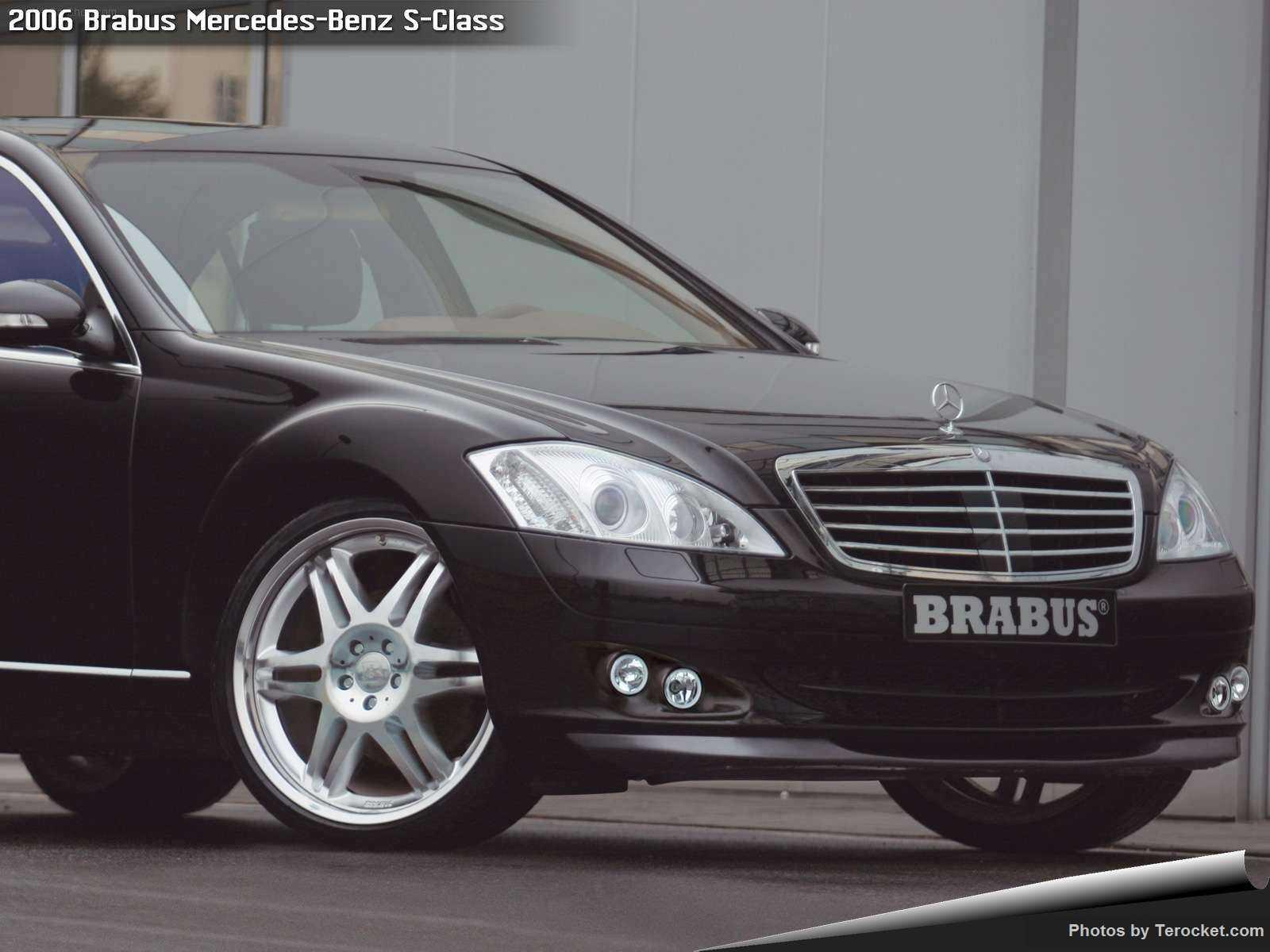 Hình ảnh xe ô tô Brabus Mercedes-Benz S-Class 2006 & nội ngoại thất