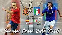 Spanyol Juara Euro 2012, Juara euro 2012, Blog Keperawatan