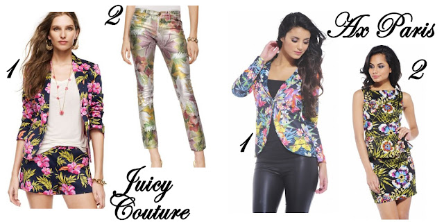 Estampado Tropical Juicy Couture Ax Paris