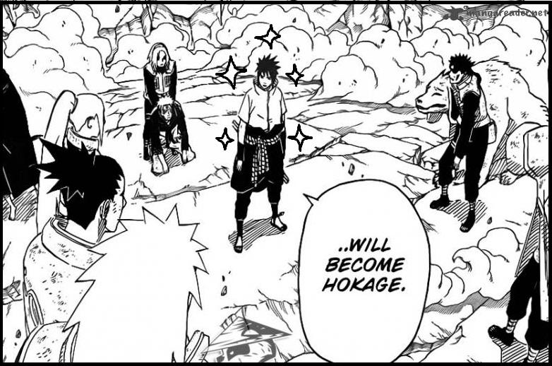 Otaku nuts 4 reasons why sasuke should become hokage see how conveniently kishimoto drew the sparkles voltagebd Images