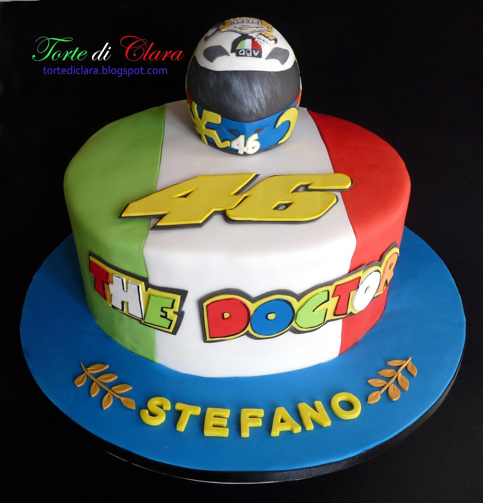 Valentino Rossi cake. Torta per la laurea di