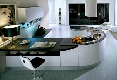 Desain Dapur Maskulin