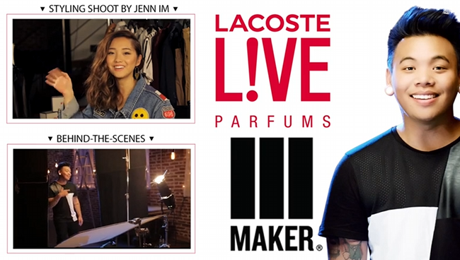 Sponsored Video: Lacoste Invites You to Experience the New Chapter of Fragrance with LACOSTE L!VE