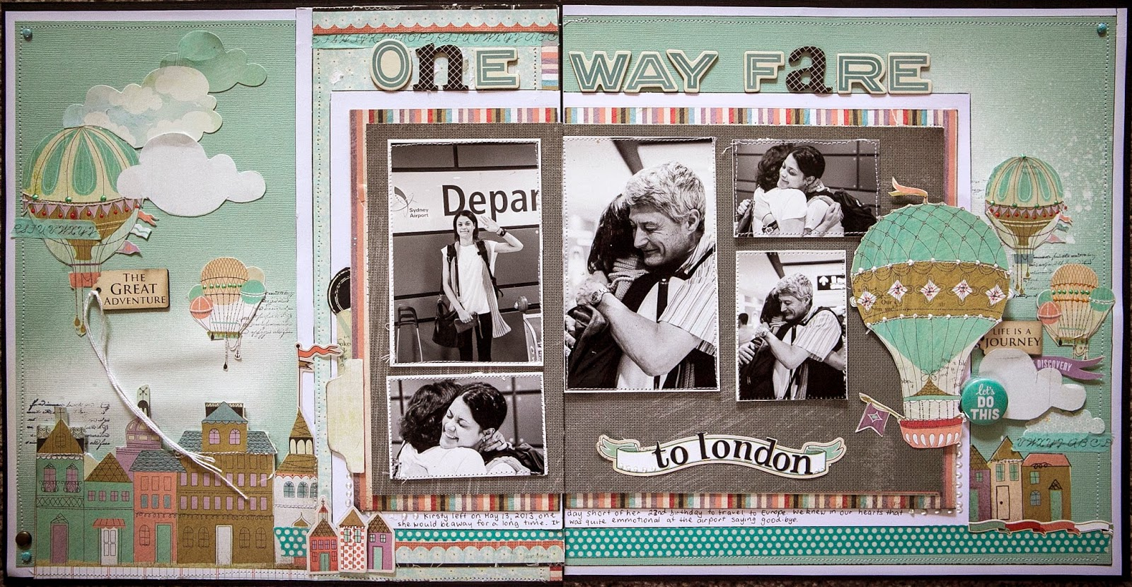 Scrapbook ideas adventure - All Part Of The Scrapbooking Journey I Guess This Was Just A Greater Labour Of Love Than Usual Hope You Like It And If You Don T Please Don T Tell Me