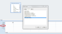 Show Tabel Query Wizard Database Access
