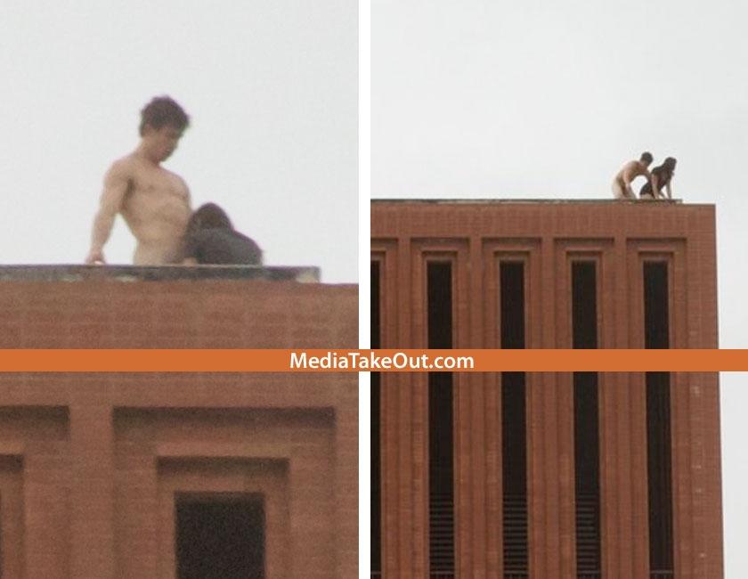 Waite phillips hall rooftop sex photos