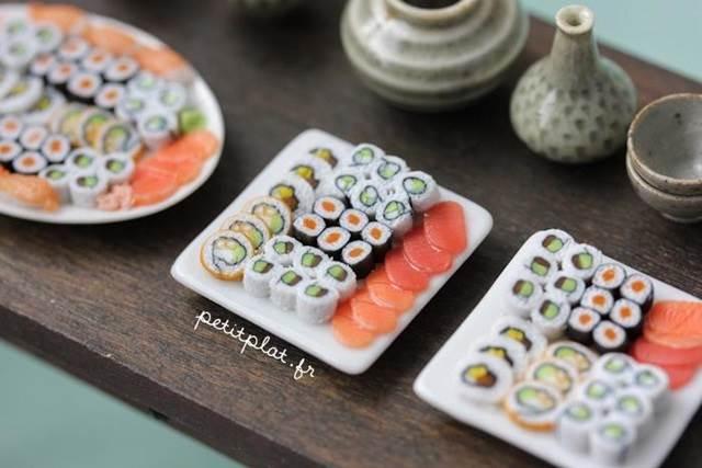 set sushi model