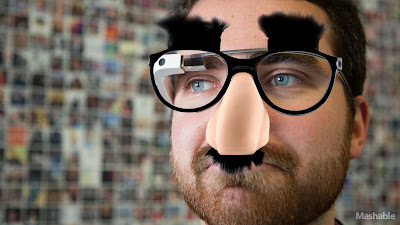 Google Glass Mashable Disguise