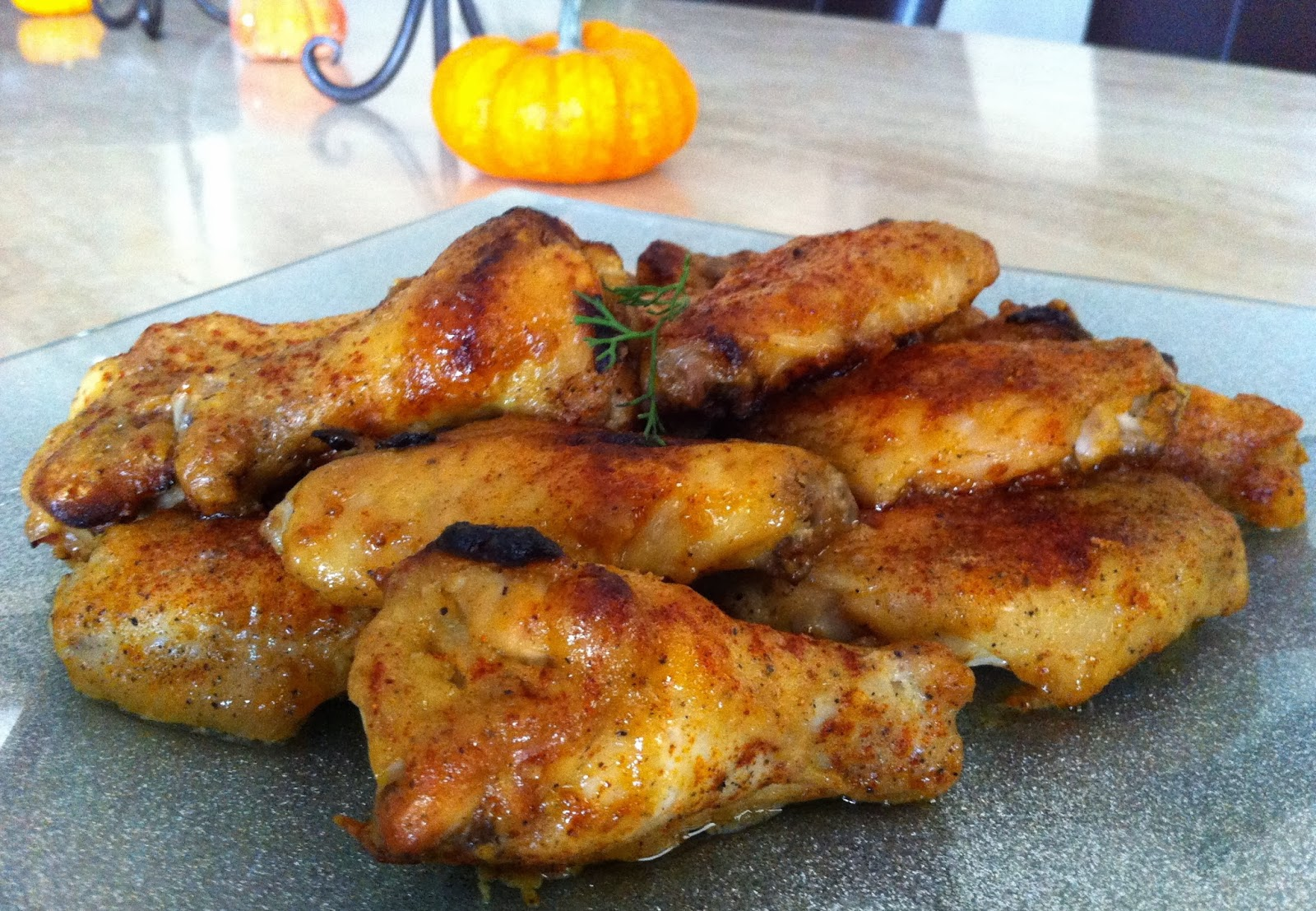 Lemon Dijon Wings Recipe — Dishmaps