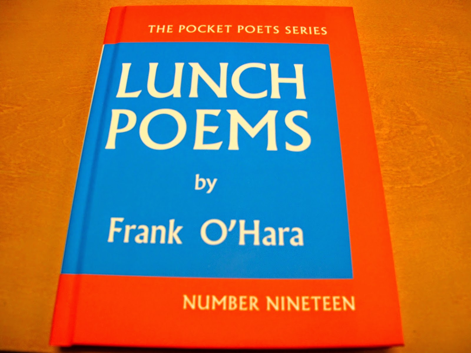 lunch poems city lights pocket poets series