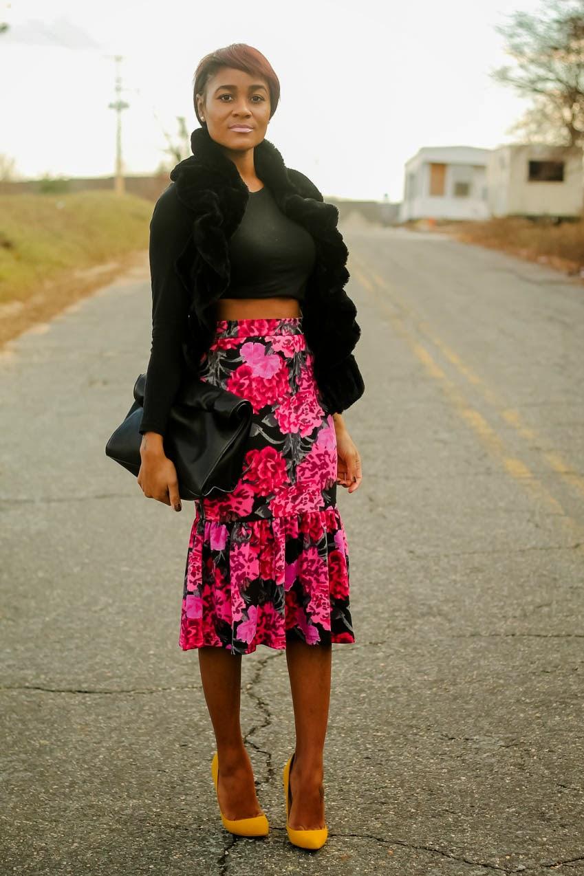 asos-floral-peplum-skirt