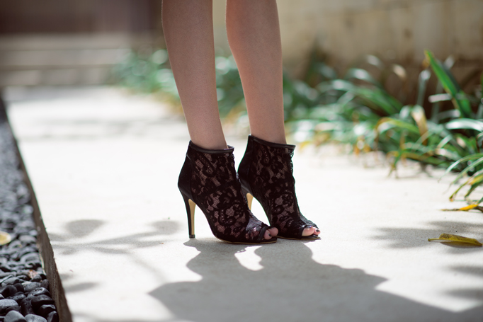 MLM Lace booties