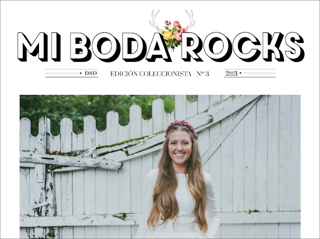 Revista de Bodas diferentes Mi Boda Rocks Magazine Edición Coleccionista