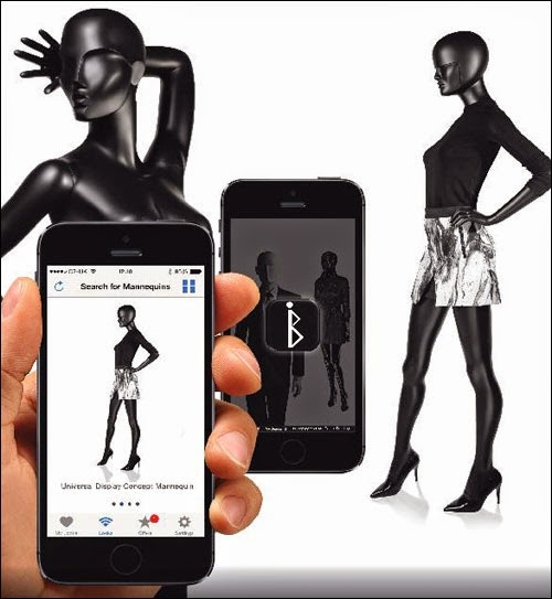 Digital Advertising - Beacon-enabled Mannequins
