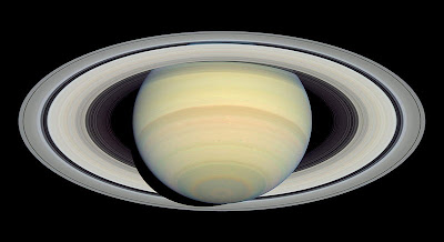 2004 Hubble telescope picture of Saturn