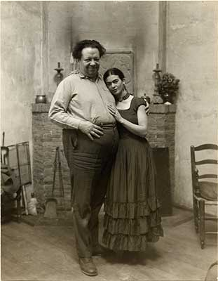 Diego+Rivera+y+Frida - Frida's hand-written love letters to Diego: a sampler - Love Talk