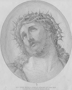 Uma linda imagem de JESUS!