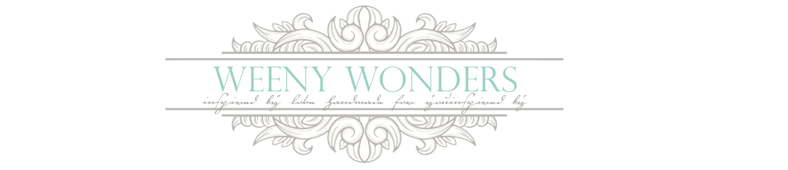 Weeny Wonders Blog